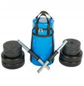 30kg Dambıl Seti Fitness Seti Ağırlık Seti+hediye Taşıma Çantası