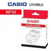Casio Np 50 Araç Şarj Aleti Şarz Cihazı Sanger