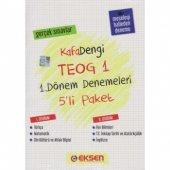 Eksen Yayınları Kafadengi 8.sınıf Teog 1 5li Paket Denemeleri