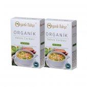 Organik Bahce Organik Sebze Çorbası, 2ad X 100gr