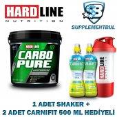 Hardline Carbopure 4000 Gr. + 1 Shaker + 2 Carnifit 500 Ml Hediye
