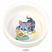 Trixie Kediler İçin Seramik Kedi Mama Su Kabı 0,3lt 11cm
