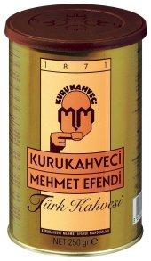 Mehmet Efendi Türk Kahvesi 250 Gr. Teneke Kutu