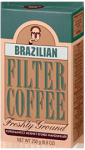 Mehmet Efendi Brazilian Filtre Kahve 250 Gr.