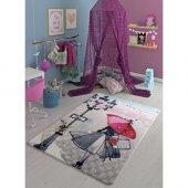Confetti Umbrella Confetti Çocuk Odası Halısı 133x...