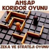 Ahşap Koridor Oyunu Akıl Mantık Ve Strateji Zeka Oyunu