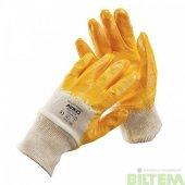 Iş Eldiveni Sarı Lux Nitril 3 Adet