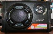 Leader Ap 80 Mevlut Anfısı Usb Kart Radyo Şarjlı Mikrofon Giriş