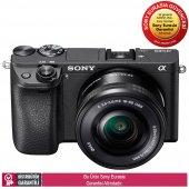 Sony �6300 16 50mm Motorlu Zoom Objektifli Fotoğraf Makinesi