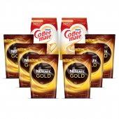 Nescafe Gold 1200 Gr + Coffee Mate 1000 Gr