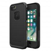Lifeproof Fre Apple İphone 8 Kılıf Asphalt Black