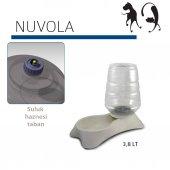 Mp Nuvola Hazneli Kedi Köpek Mama Ve Su Kabı 3,8 L Beyaz