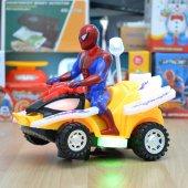 Spiderman Araba Örümcek Adam Arabası Oyuncak Motosiklet