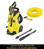 Karcher K4 Full Control 130 Bar Basınçlı Yıkama Makinesi Hediyeli