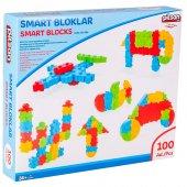 Pilsan Smart Bloklar Kutulu (100 Parça) Kargo Bedava
