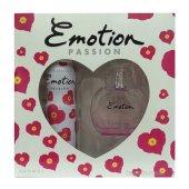 Emotion Passion Edt 50 Ml + Deodorant 150 Ml Kadın...