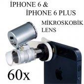 Toyspazar İphone 6 Ve 6 Plus 60x Mikroskobik Büyüteç Lens