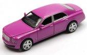Bentley 1 32 Pembe Çek Bırak Metal Araba (Sesli Işıklı)