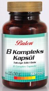 Balen B Vitamini Kompleks 60 Kapsül B Comple 425mg