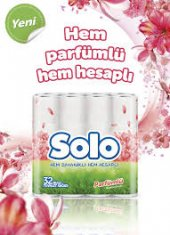 Solo 32li Tuvalet Kağıdı Parfümlü Klasik Çeşitleri