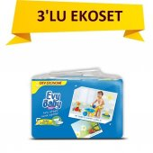 Evy Baby Jumbo Pk 3lü Set No 5 (12 25kg) 108 Adet Junior Yeni