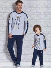 Roly Poly 9409 Lisanslı Fenerbahçe Erkek Pijama Takımı