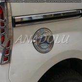 Peugeot Bipper Krom Sürgü Nikelajı 2 Parça Paslanmaz Çelik