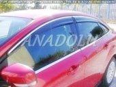 Ford Fiesta Krom Cam Çıtası 4 Parça 2009 Üzeri