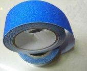 25mmx25mt Mavi Merdiven Kaymaz Bant