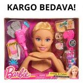 Barbie Bebek Delüks Büst Saçlarını Tasarla Süsle