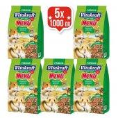 Vitakraft Menü Vital Premium Hamster Yemi 1 Kg X 5 Adet