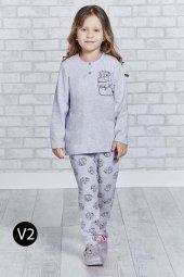 Roly Poly 2157 Manşetli 10 16 Yaş Garson Boy Kız Çocuk Pijama Tak