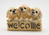Biblo 3 Lü Kopek Welcome Yazılı