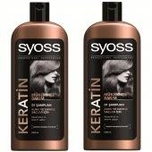 Syoss Şampuan Keratin Mükemmelliği 700 Ml 2 Adet