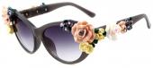çiçek Dekoratif Trend Bayan Gözlük