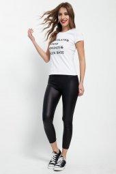 Chuck Bass Beyaz Bayan T Shirt