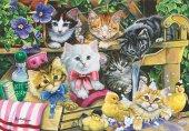 Anatolian Puzzle 260 Pcs Banyo Zamanı Bathtime Kittens