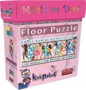 Kırkpabuç Floor Puzzle 30 Pcs Müzik Ve Dans Music & Dance