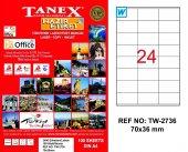 Tanex Tw 2736 Lazer Etiket
