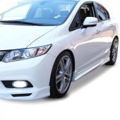 Honda Civic Fb7 2012 2015 Custom Yan Marşpiyel Seti (Plastik)