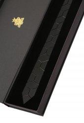Siyah Mat Pleksi Kravat Plk3661