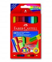 Faber Castel 10 Renk Eğlenceli Keçeli Kalem 9104