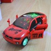 ışıklı Müzikli Hareketli Bmw X6 Jip Oyuncak Araba 19cm