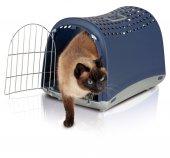 ımac Linus Kedi Köpek Taşıma Çantası Mavi 50x32x34,5cm