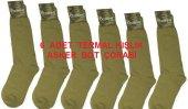 Askeri Uzun Bot Çorap 4 Mevsim (Asker Çorabı)
