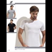 3lü Paket Erdem 100 Pamuk Elestan Sıfır Yaka T Shirt