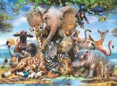 Anatolian 1043 1000 Parça Gülümse Puzzle (Africa Smile)