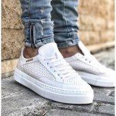 Chekich 015 Beyaz Erkek Ayakkabı