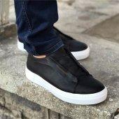 Chekich Bağcıksız Siyah Erkek Ayakkabı