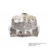 Karanfil Ve Papatya Desenli Pirmoda Gümüş Boller